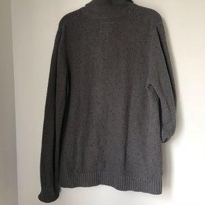 O'Hanlon Sweaters - O'Hanlon Mills button cardigan gray knit Large